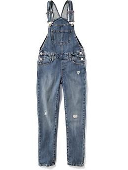 614973e6444d7 Denim Overalls for Girls | Old Navy | Cute clothes | Denim overalls ...