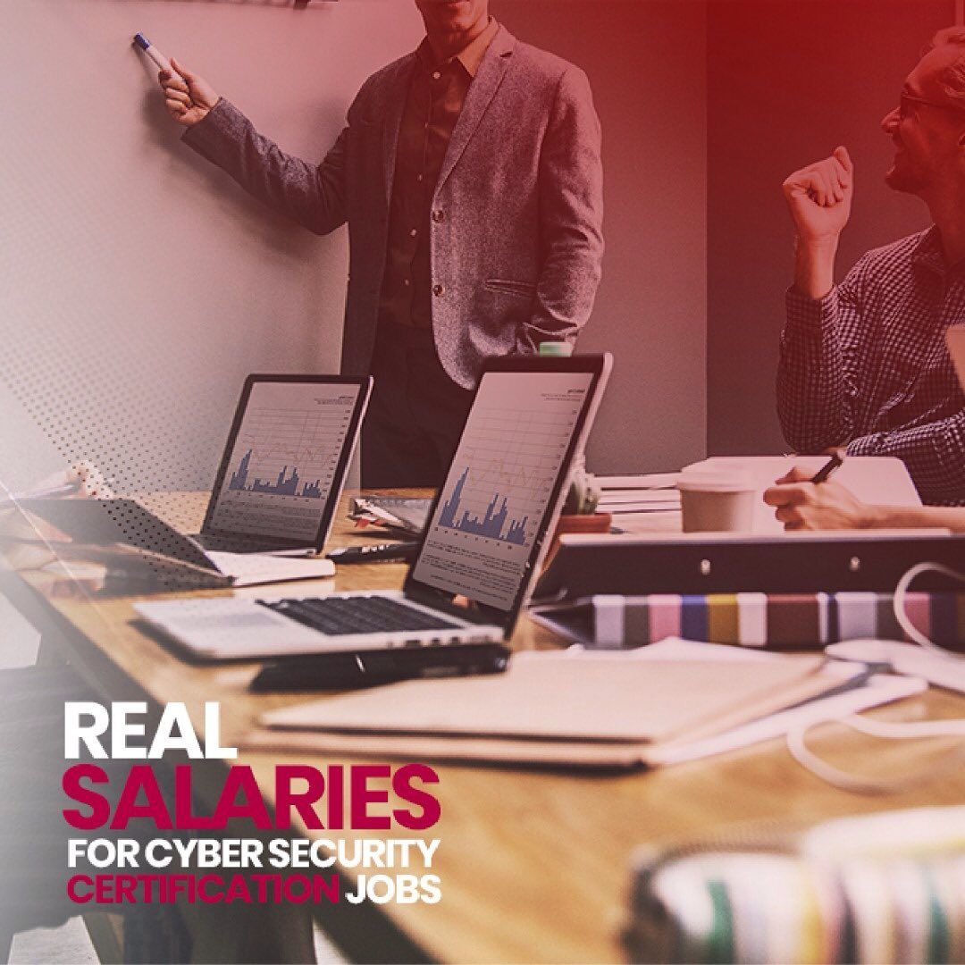 It Turns Out That Current Salaries For Positions In Cyber Security Can Be As High As 180000 Technology Solutions Cyber Security Certifications Cyber Security