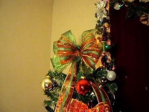 como hacer moo navideo para el arbol de navidad