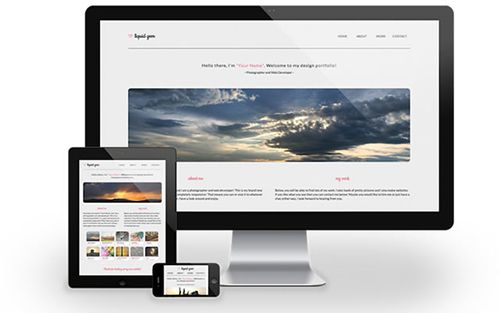 website 35 free and responsive website templates
