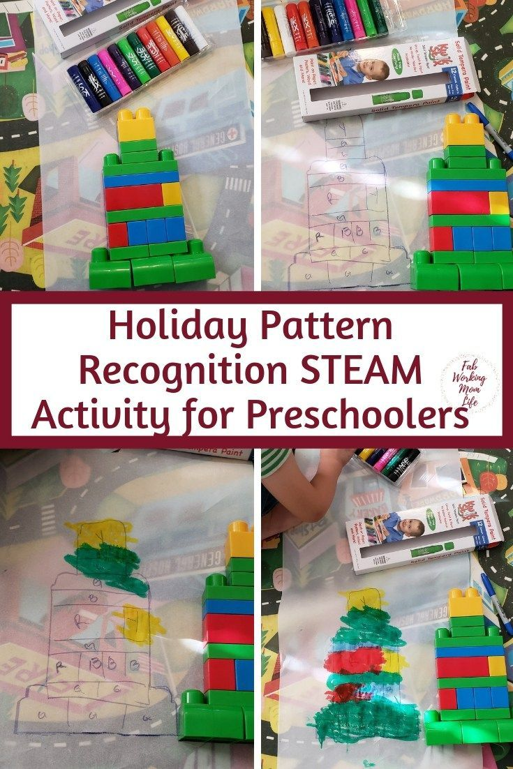 Mess-Free Pattern Recognition Christmas Tree STEAM ...
