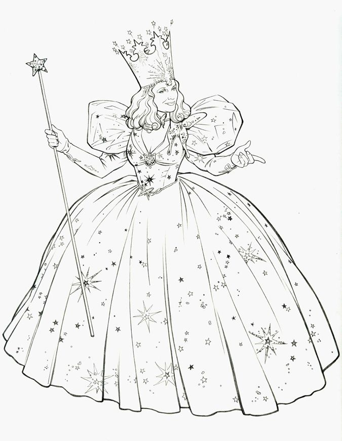 Glinda The Good Witch By Jerome K Moore On Deviantart Glinda The Good Wizard Of Oz Color The Good Witch