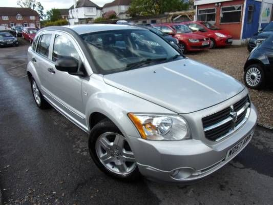 used 2008 57 reg silver dodge caliber 2 0 sxt 5dr cvt auto for rh pinterest com