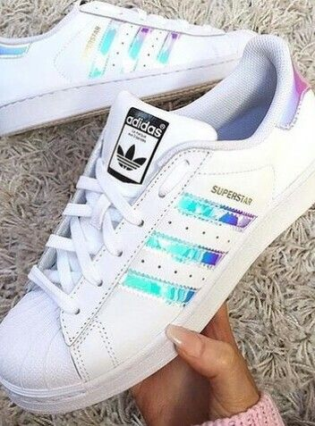 Blasiangyal | Adidas superstar holographic, Adidas shoes