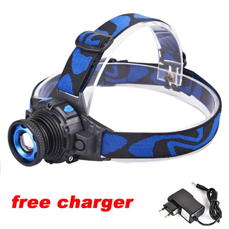 Zoomable Headlight 2000 Lumen Cree Xml Q5 Rechargeable Headlamp Led Headlight Zoom Led Head Light Lamp For Cycling Affili Led Headlamp Waterproof Led Headlamp