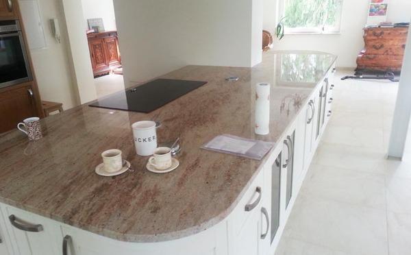 Aufmaß, Lieferung und Montage der #Granit #Arbeitsplatten - küchenarbeitsplatten granit preise