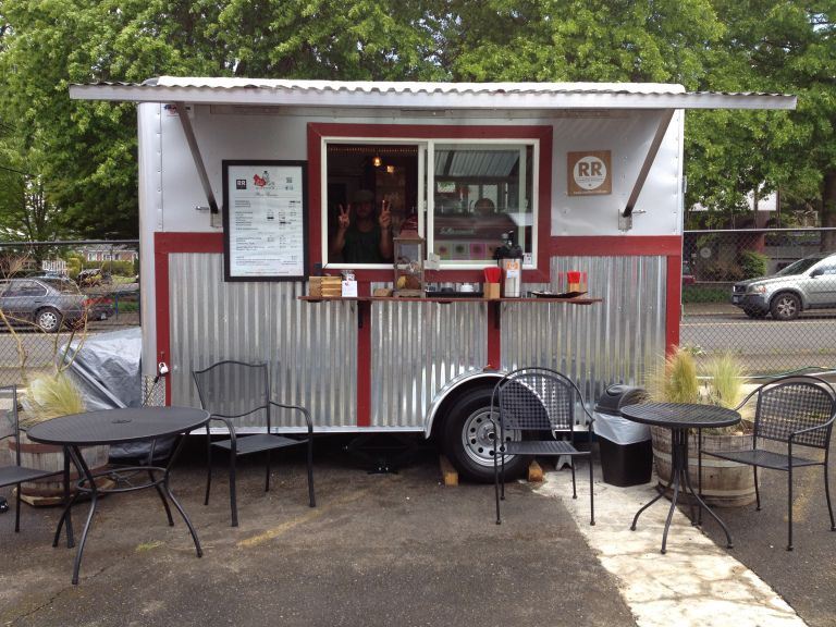 Portland Food Cart Pod Grand Opening! Ole Latte
