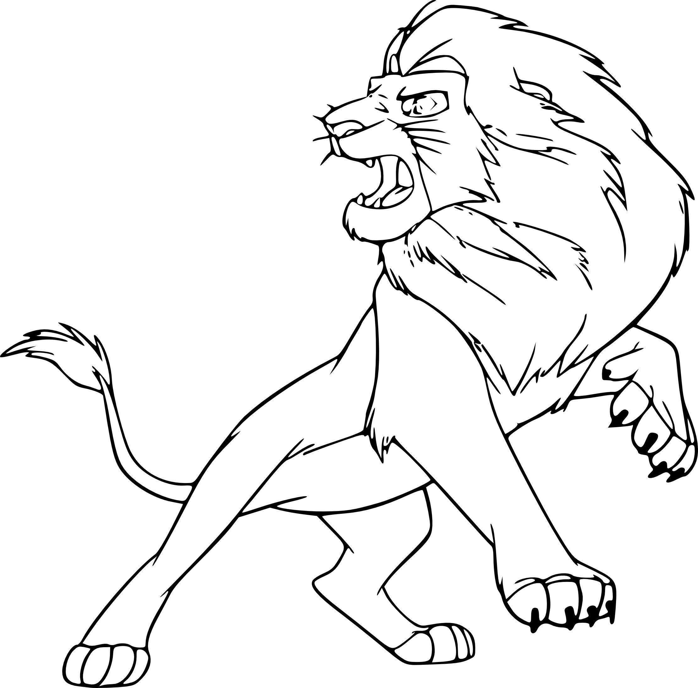 14 Coloriage à Imprimer Lion  Lion, Humanoid sketch, Design reference