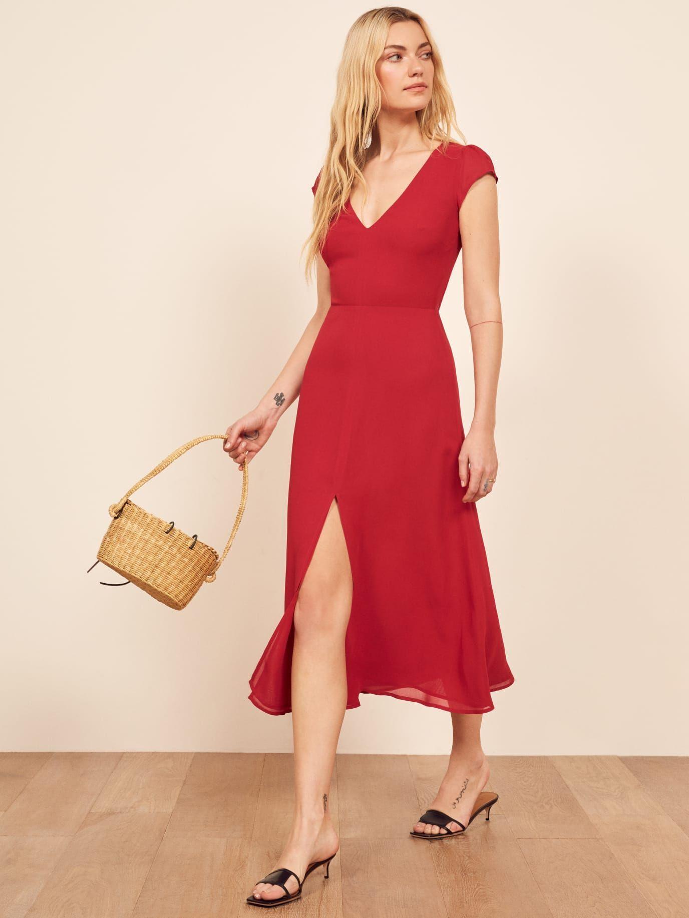 43fe0d8e42fb Reformation Wellfleet Dress in 2019 | Dresses | Dresses, Backless ...