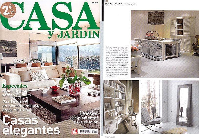 Revista Casa Y Jardin Enero 2012 Pagina 4 Casa Jardin Jardines Casas
