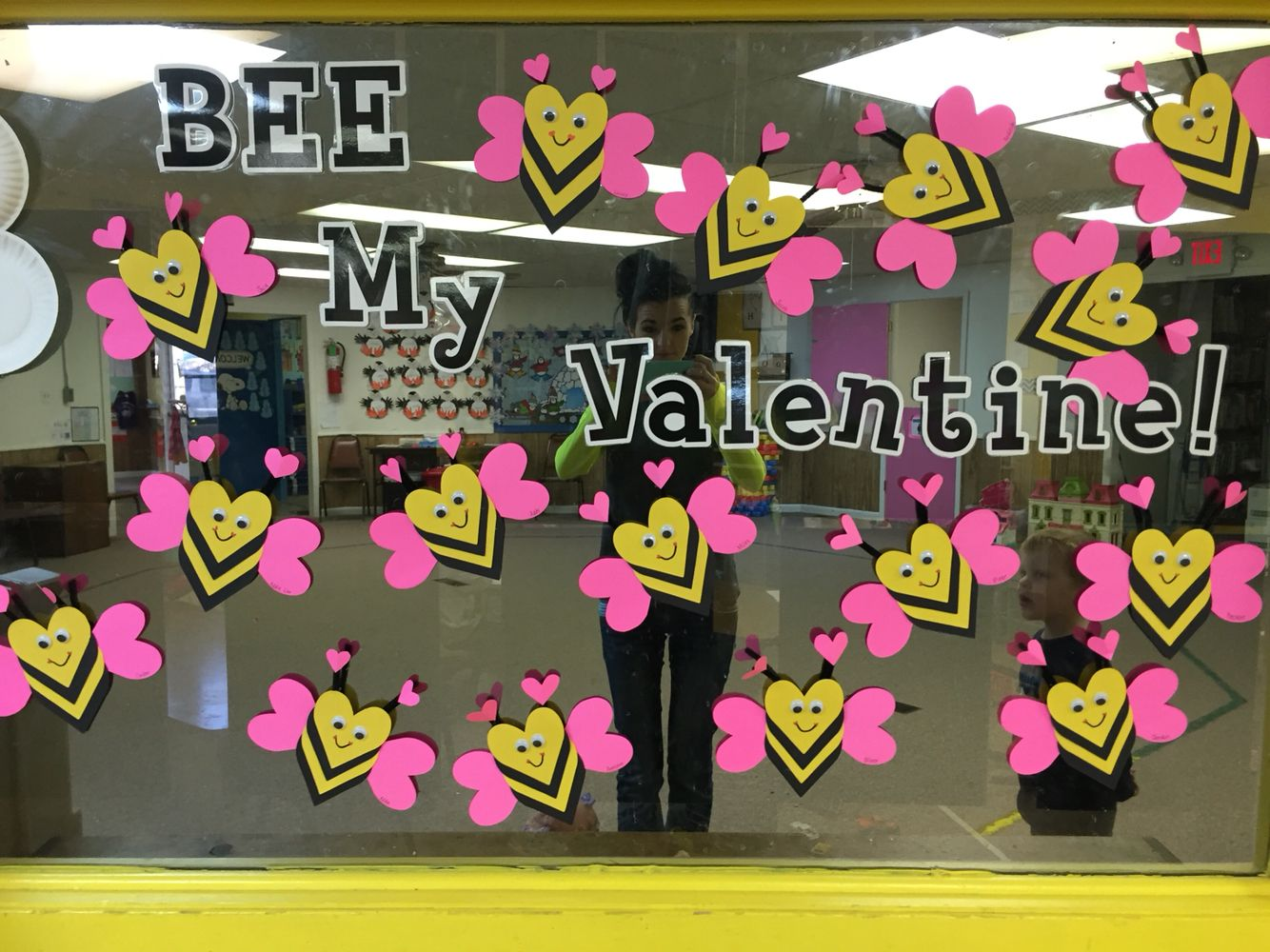Bee My Valentine Bumble Bee Craft Pre K Fun Crafts Pinte