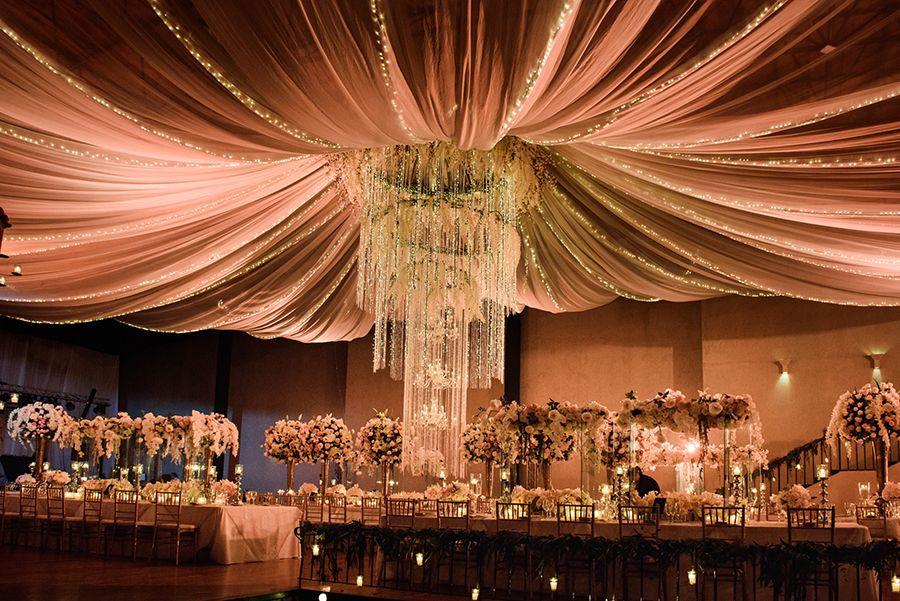 Luxury Wedding Indoor: Old World Luxury Wedding In Antigua