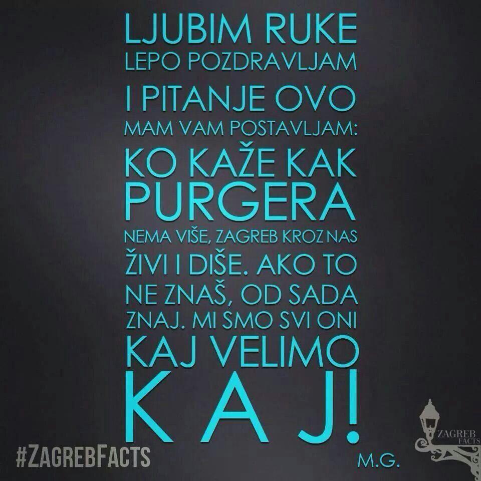 Zagreb In Words Zagreb Croatia Zagreb Croatia