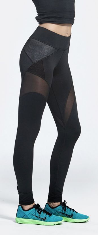 Workout leggings | Running Tights | Workout Clothes @ www.FitnessAppare...