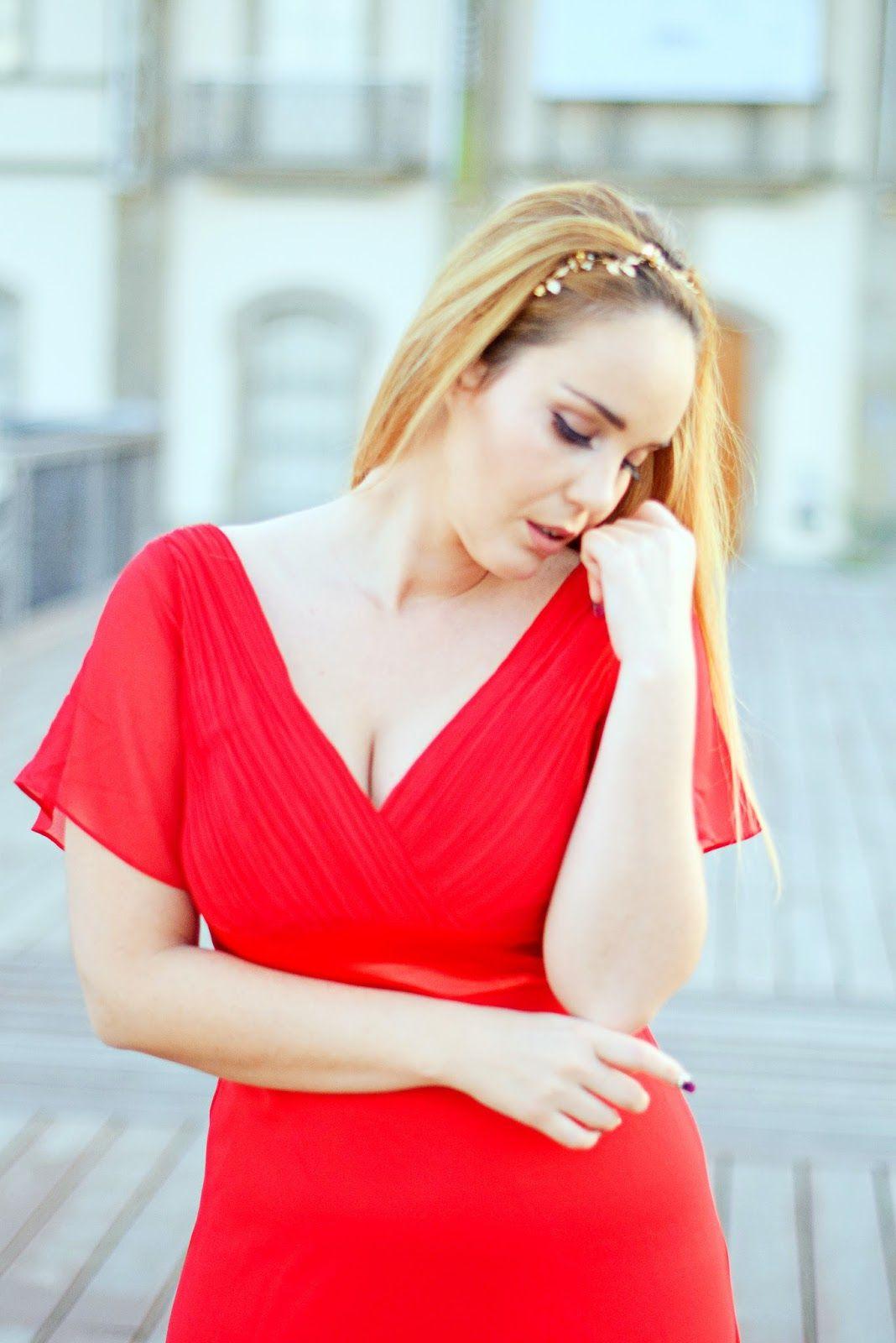 Vestidos rojos para san valentin