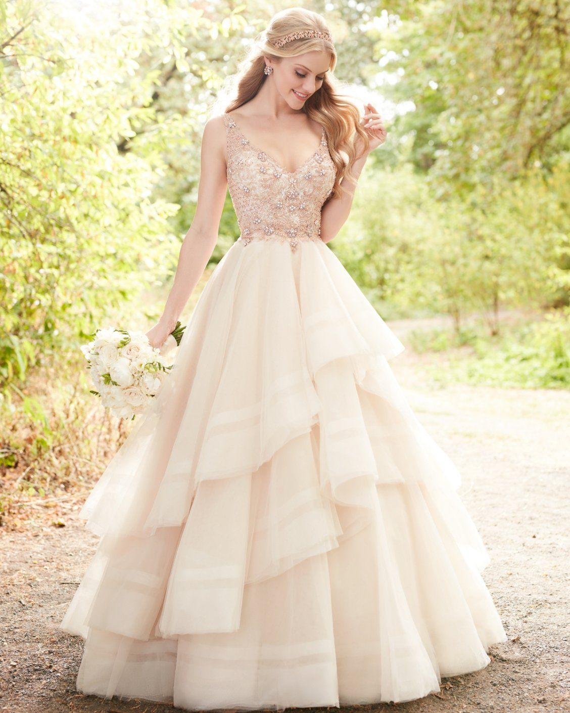 Wedding Dresses Rose