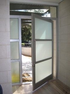 900 Series Hinged Pivot Doors Contemporary Entry By Western Window Systems Door Glass Design Entrance Doors Pivot Doors