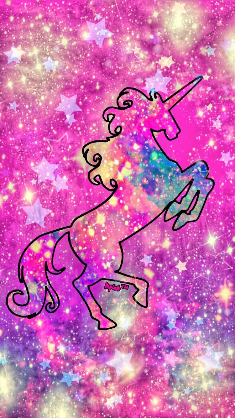 Brite Unicorn Wallpaper Hd And Clean 750 1334 Blinger With