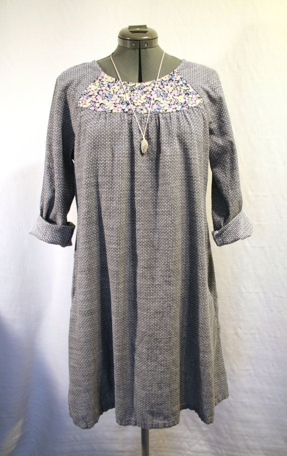 Pin by Stewart Allen on sew-sew | Shirt dress pattern, Tunic sewing