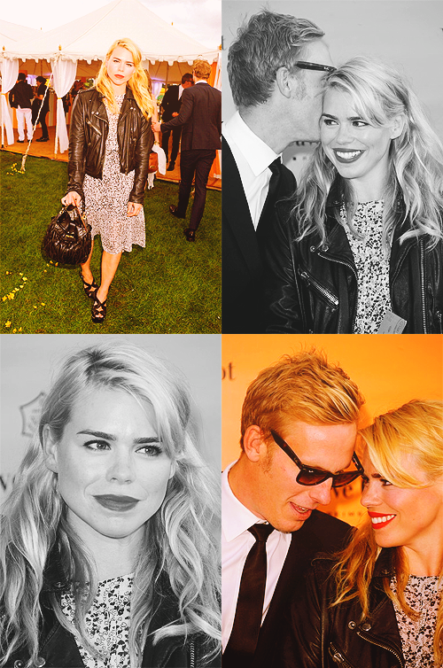 billie piper and husband laurence fox even though shes