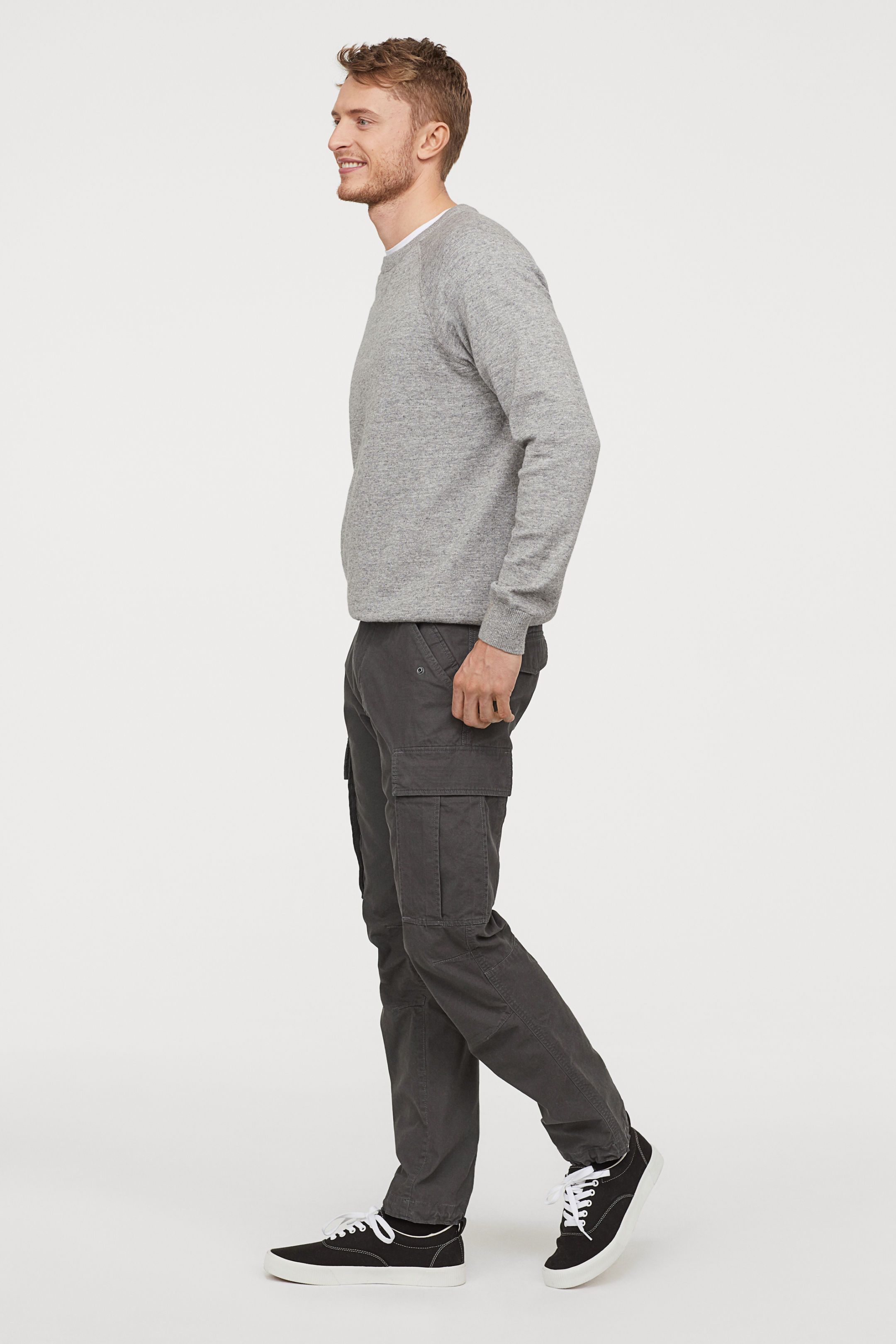 good reputation big discount select for latest H&M Cargo Pants - Gray | Clothes in 2019 | Cargo pants men ...