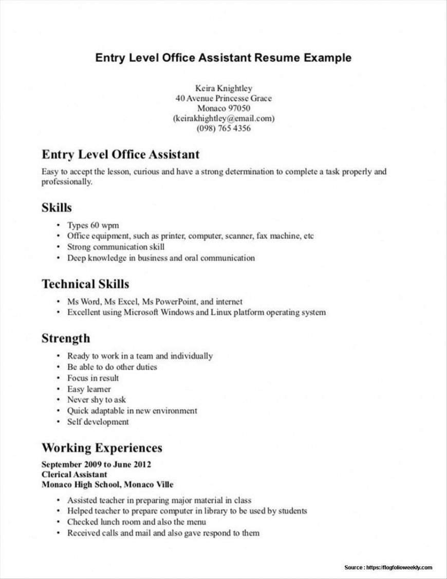 Computer Science Resume Entry Level Beautiful 9 Objectives For Resumes Entry Level