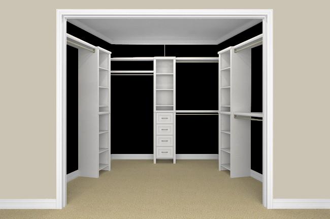 Easy To Use Design Tool Build A Closet Home Depot Closet Closet Maid