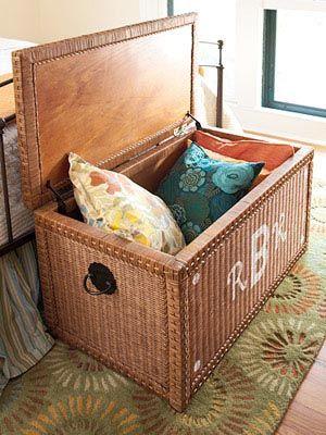 Fibras Naturais Em Cestos Baus E Objetos Para A Casa Baus