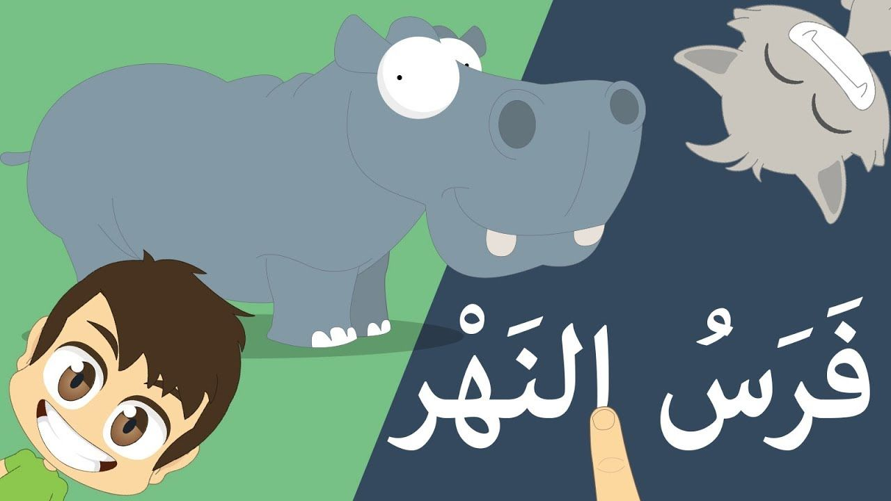 Learn Reading Wild Animal S Name In Arabic For Kids Read Arabic For K Kids Reading Kids Learning