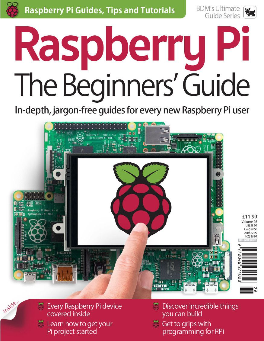 In-depth, jargon-free guides for every new Raspberry Pi user!