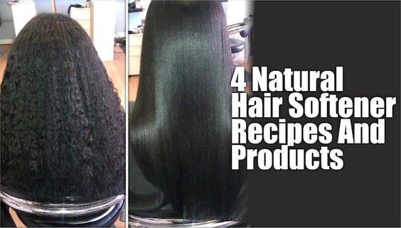 Natural Hair Softener For Black Kids