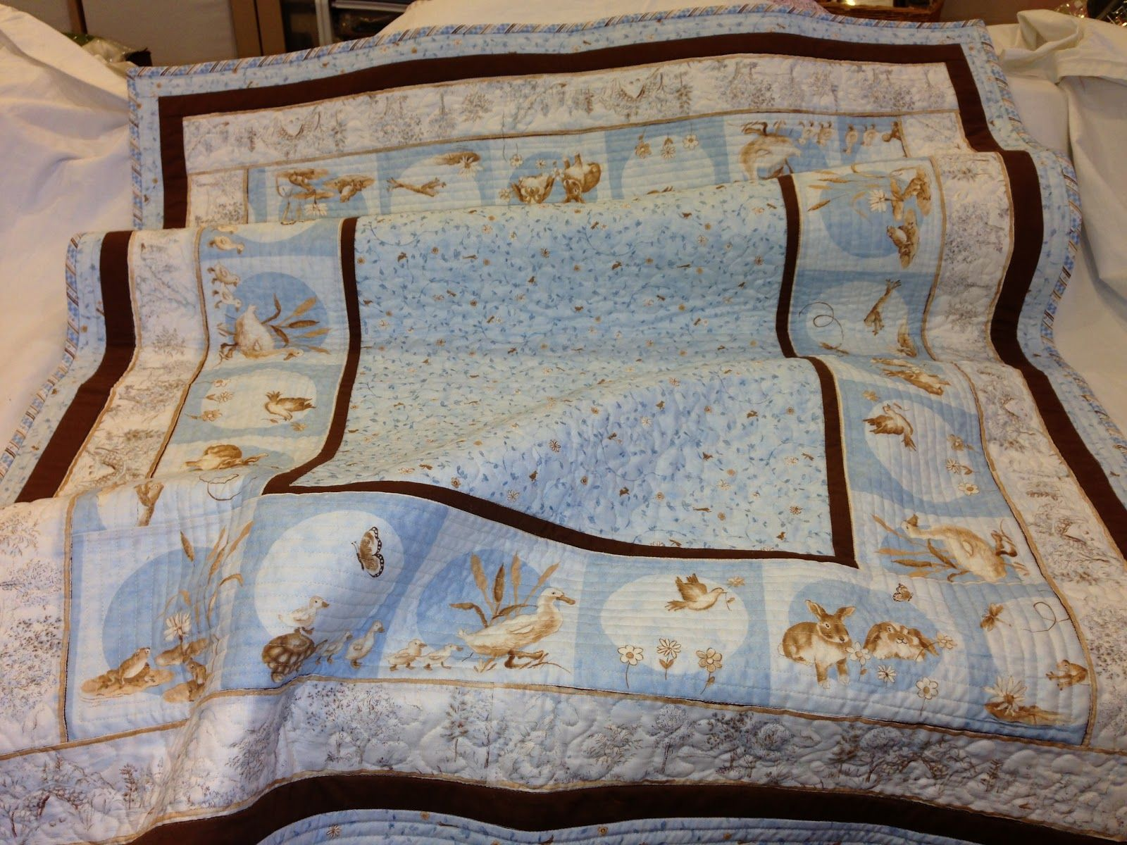 Wren's Nest: Third Baby Quilt Done, Another One Started