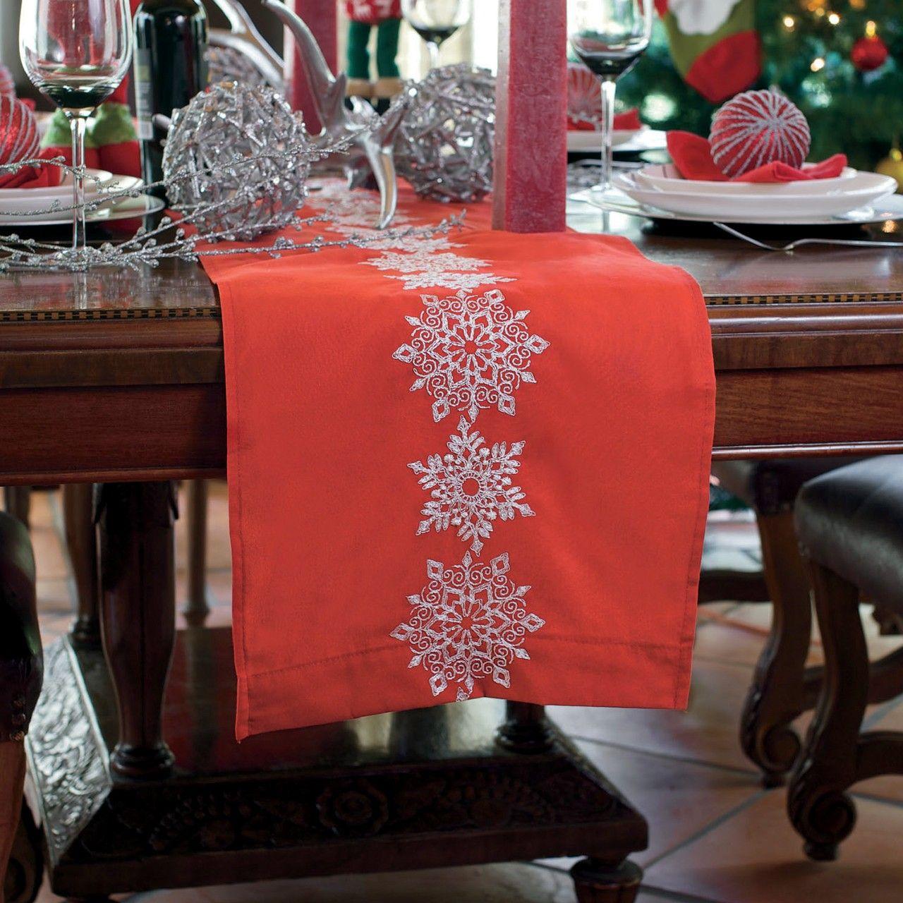 Camino de mesa noche de paz navidad pinterest mesas for Camino mesa moderno