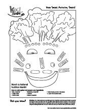 check out this fun activity sheet for kids - Fun Activity Sheets
