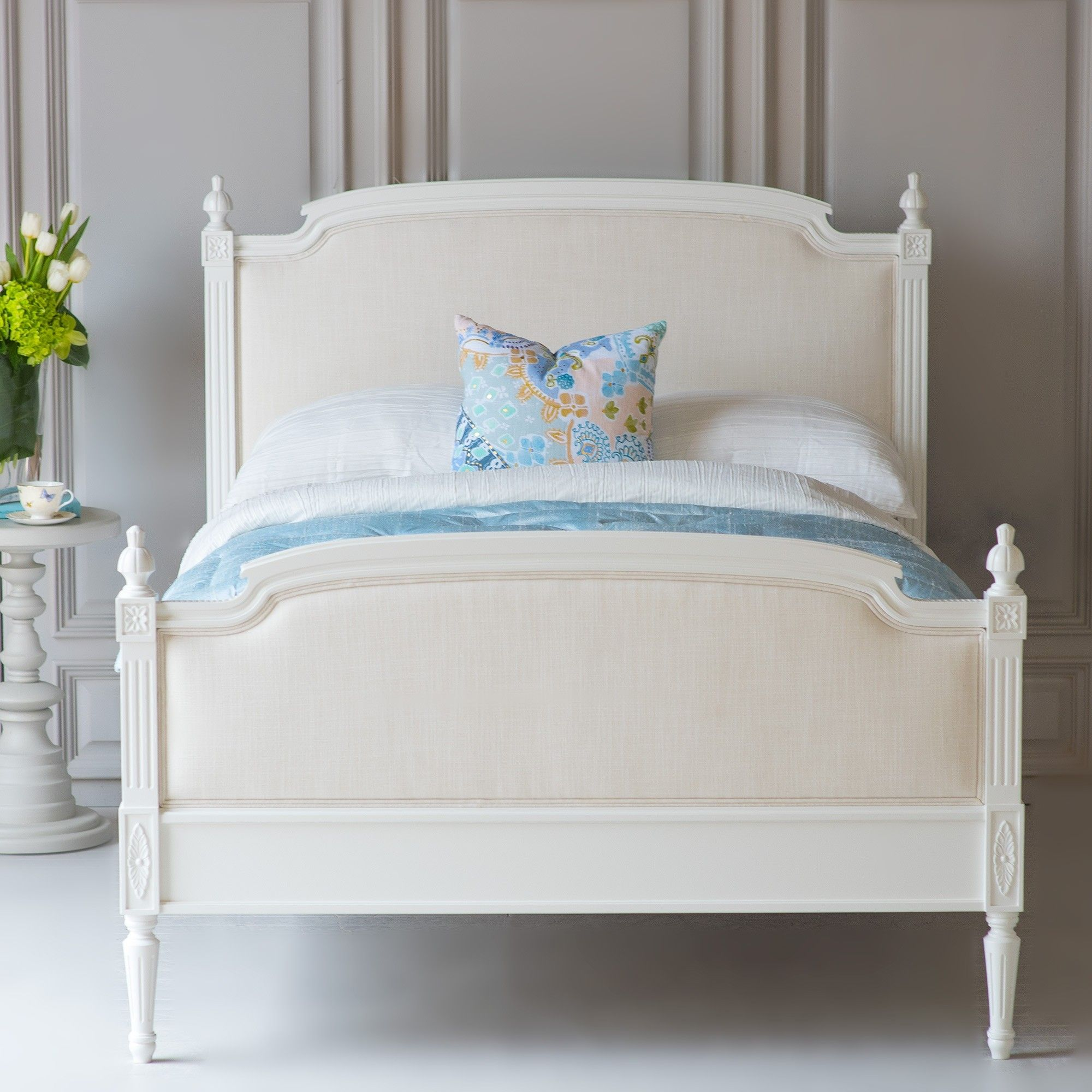 Lovely Louis Upholstered Bed Beautiful Bed Company Drd