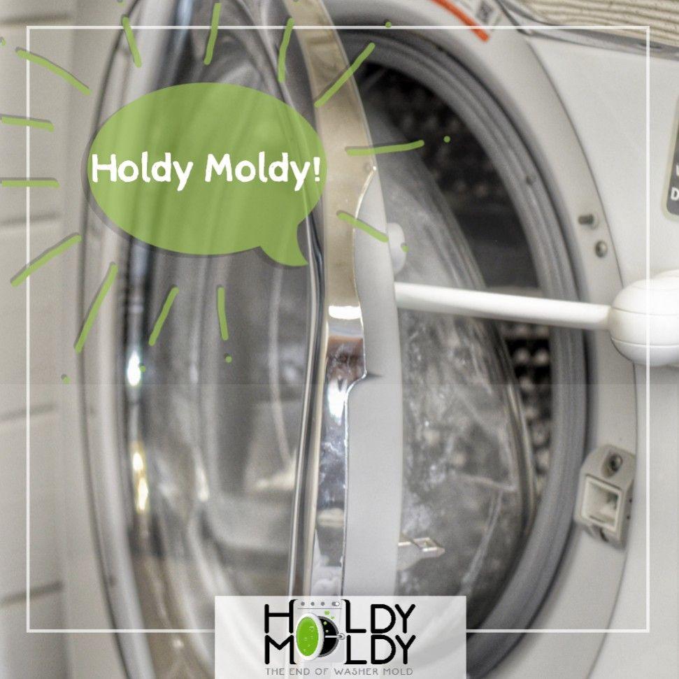 Front-Load Washer Door Prop Helps Prevent Mold and Mildew Odors Baseball MVP