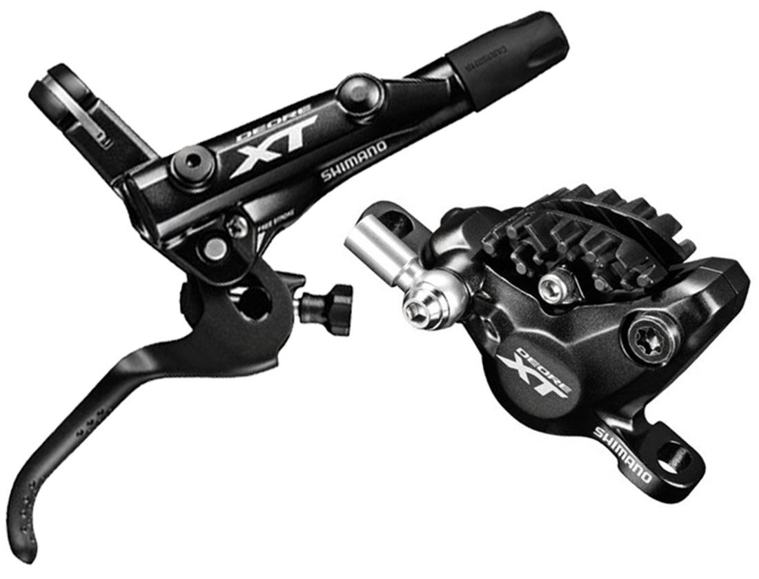 New Shimano Deore XT BR-M8000 Hydraulic Disc Brake Caliper Front or Rear Black