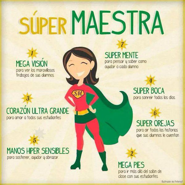Educación y consultoria: SUPER Maestra #diadelmaestro