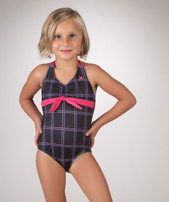 Hurley Girls Baby One Piece Swimsuit