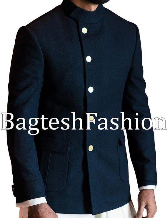 Bagteshfashion Indian Designer Party Wear Nehru Jacket Wedding