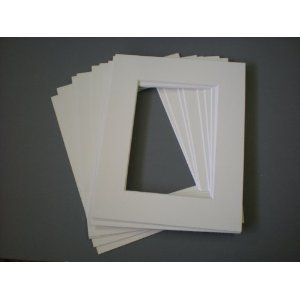 10 X Picture Mounts 10x8 For 8x6 Pictures Photos Antique White Textured Picture Mounting X Picture Antiques