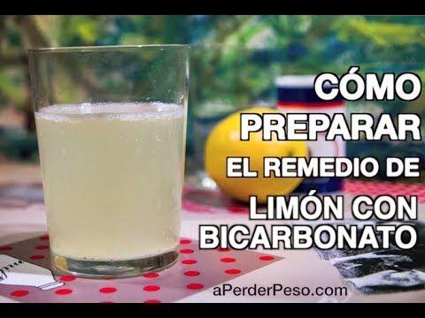 limon y bicarbonato para bajar la panza