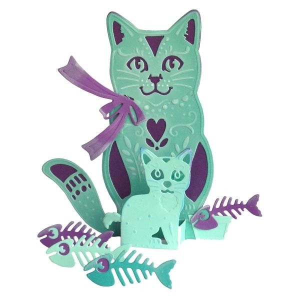 Creative Expressions Paper Cuts 3D Collection The Cats Whiskers Craft Die - CraftStash