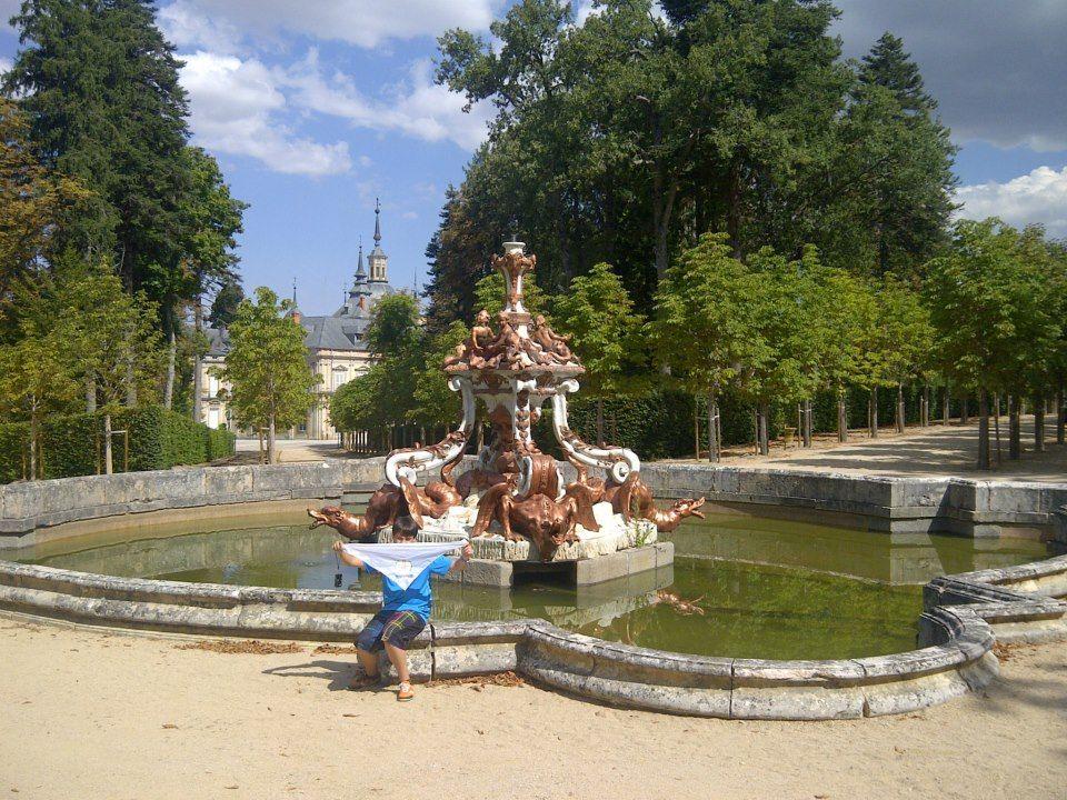 Lacotec en el palacio real de la granja de san ildefonso for Marmol blanco real