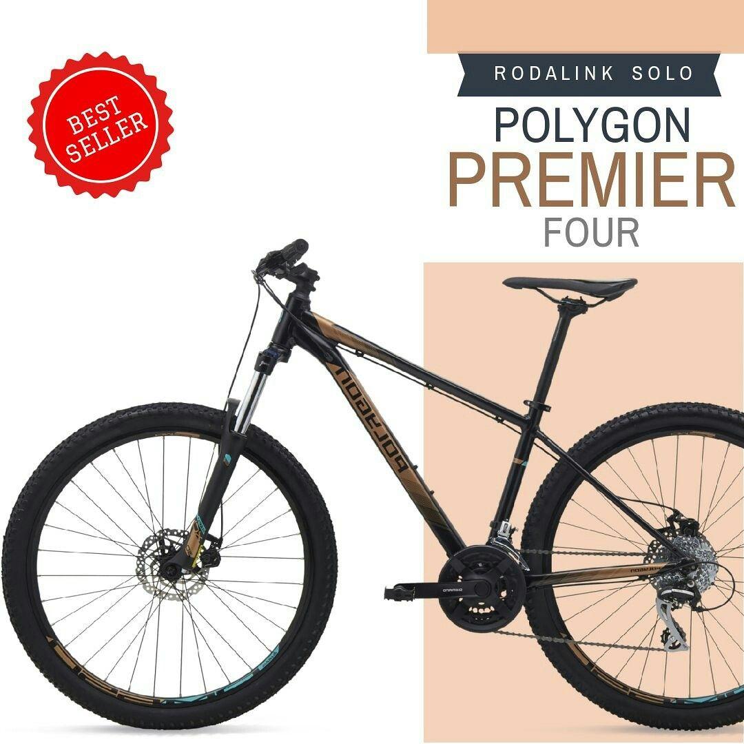 Rodalink Solo Polygon Premier 4 Yg Selalu Menjadi Idola Goweser