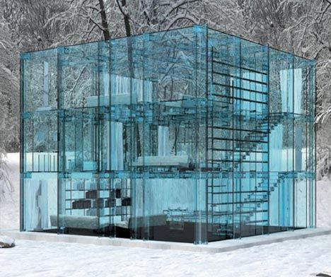 Glass House Designs 10 unbelievable see-through glass house designs | architecture
