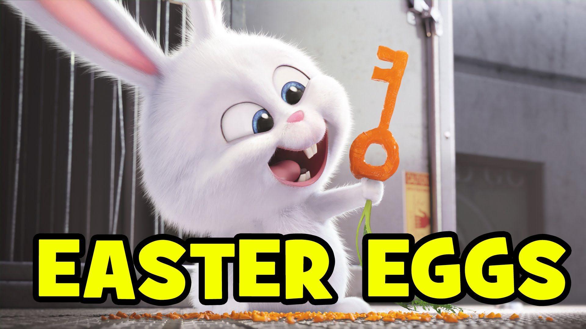 The Secret Life Of Pets Easter Eggs Secret Cameos Minions Despicabl Secret Life Of Pets Cute Disney Wallpaper Cute Bunny Cartoon
