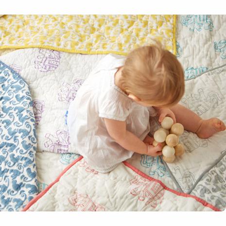 Rikshaw Design Taj Play Blanket | Baby blanket, Nursery ...