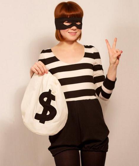 disfraz mujer ladrona