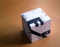 Frutiger Type Cube